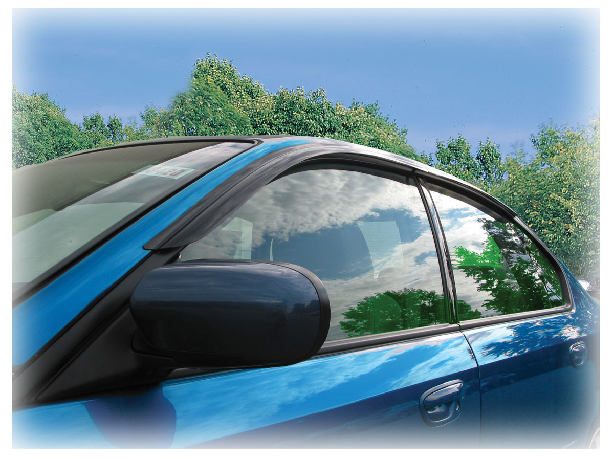 Tape-On Outside-Mount Window Visors (Shades Weather Air ...